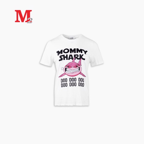 Tshirt nữ Mommy shark T-rad