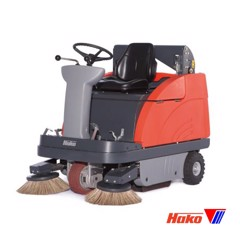 Vacuum sweepers ride on Sweepmaster B980R