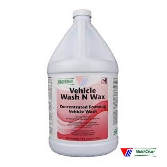 Concentrated Foaming Vehicle Wash & Wax
