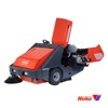 Vacuum sweepers ride on PowerBoss Armadillo 9XR