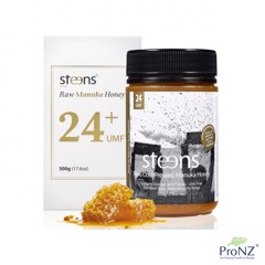 Mật ong Manuka UMF 24+ Steens - UMF 24+ 500g Raw, Cold Pressed Manuka Honey from Steens Honey