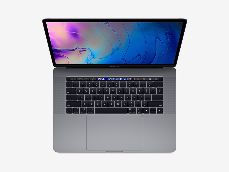 MacBook Pro 15‑inch - Space Gray - 256/512GB SSD