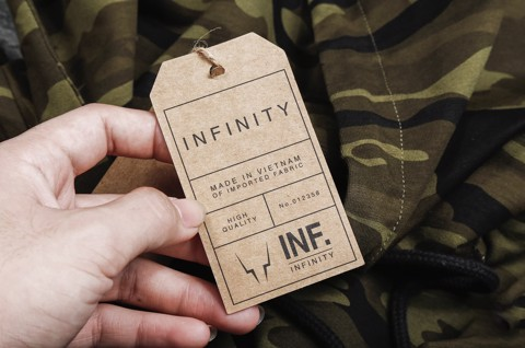 HOODIES INF CAMO OMBRE