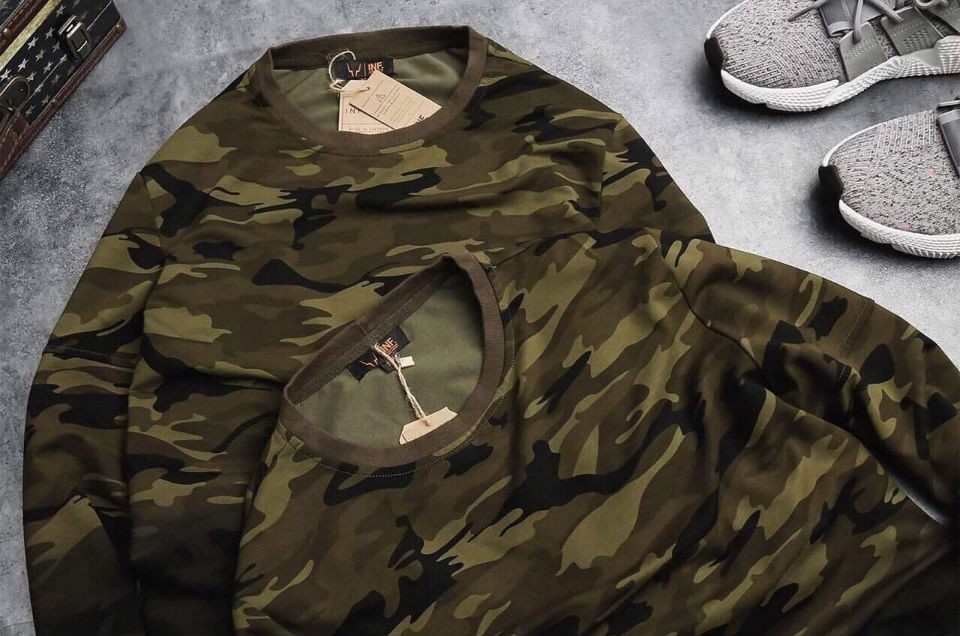SWEATER INF CAMO OMBRE