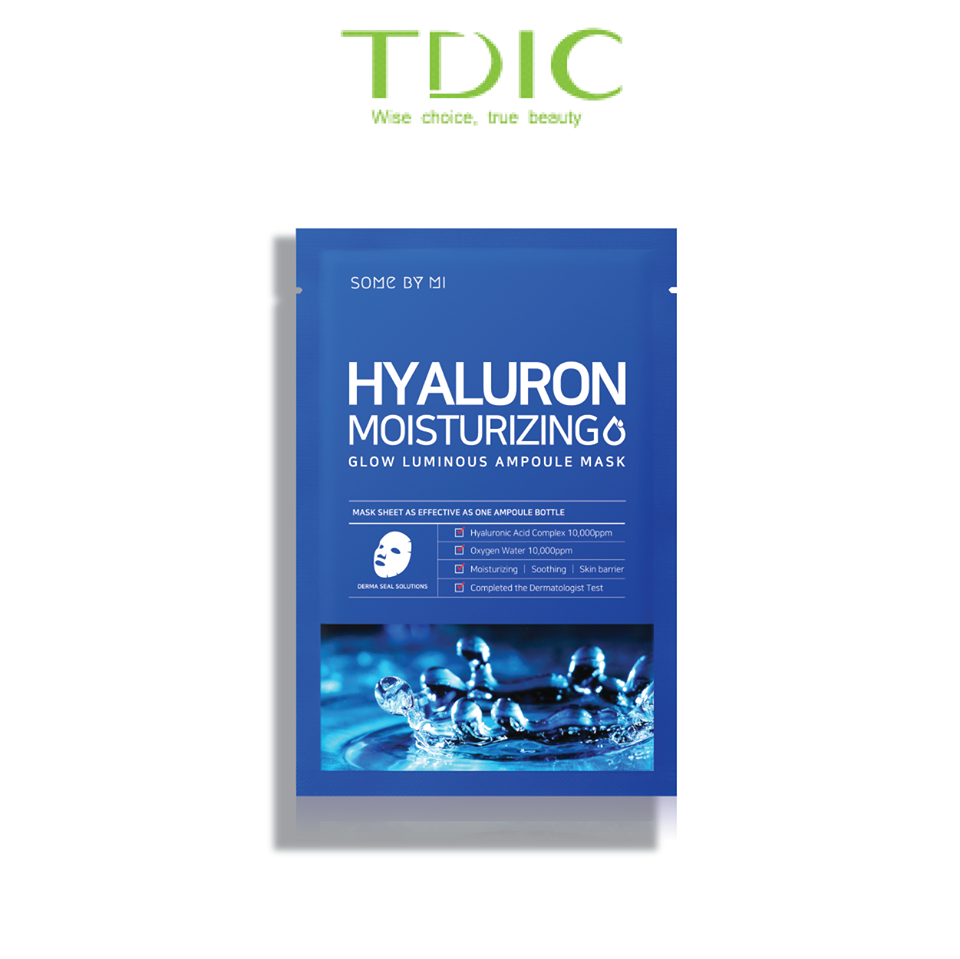 SOME BY MI HYALURON MOISTURING SHEET MASK