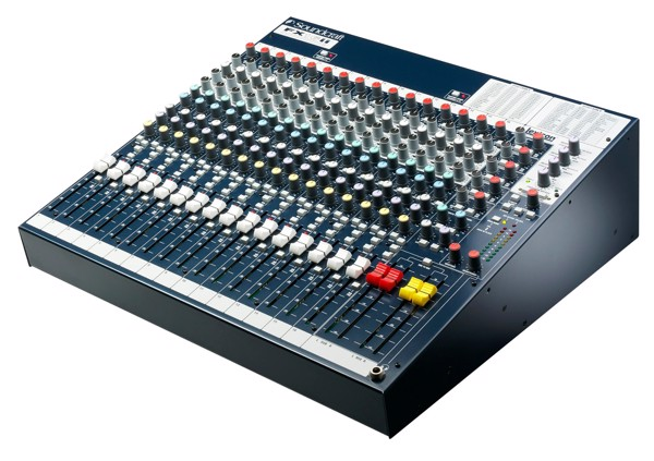 BÀN MIXER SOUNDCRAFT FX16II