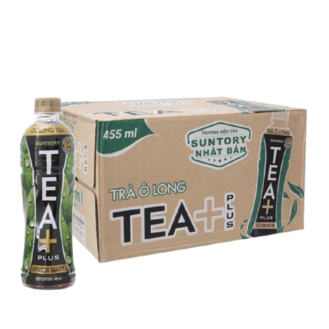 Trà Olong TEA+ PLUS 24x455ml