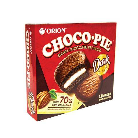 Bánh CHOCO-PIE Orion Cacao hộp giấy 360g