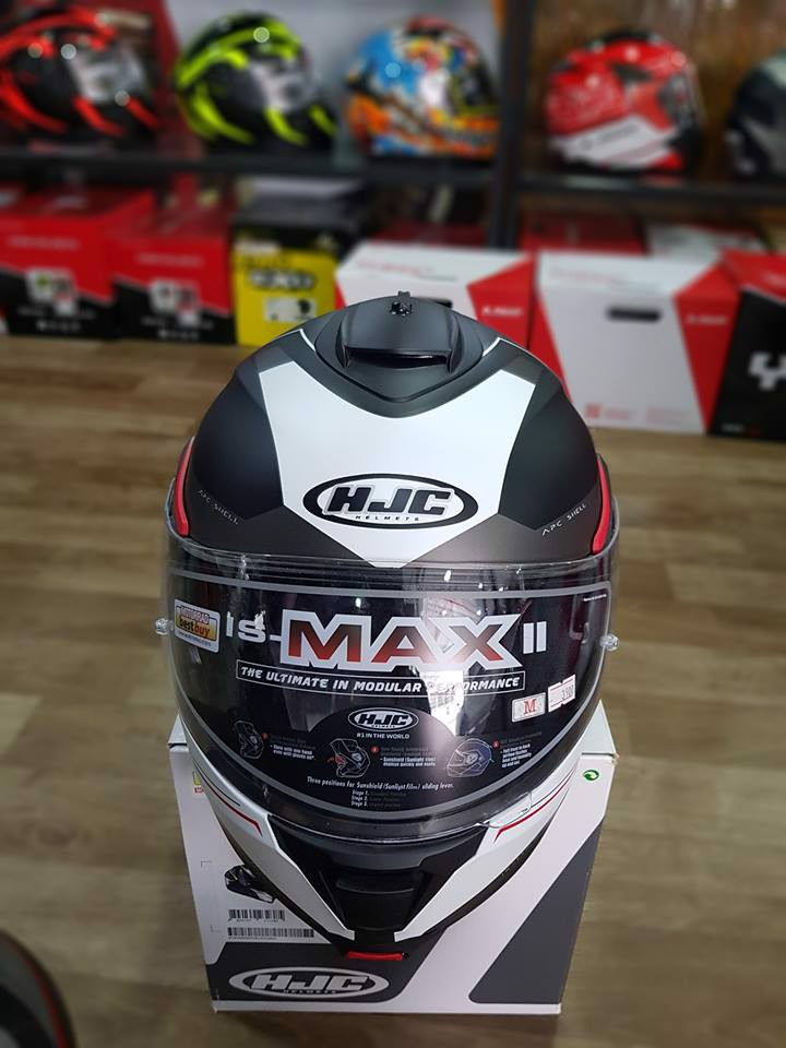 HJC IS MAX II (FULLFACE 2 IN 1)
