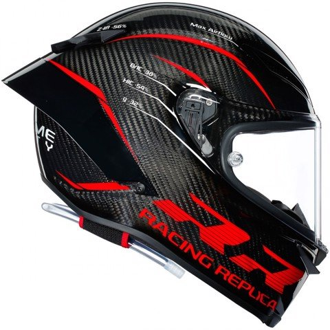 AGV PISTA GP RR PERFORMANCE CARBON / RED (PRE-ORDER)