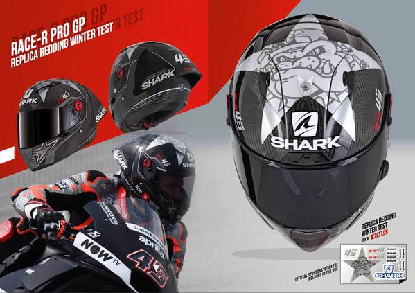 Mũ Shark Race-R Pro GP Redding Wintertest 2018 (PRE-ORDER)
