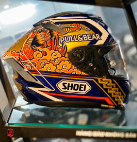 Mũ Fullface Shoei X-14 Motegi 3 Limited Edition ( ASIAN FIT )