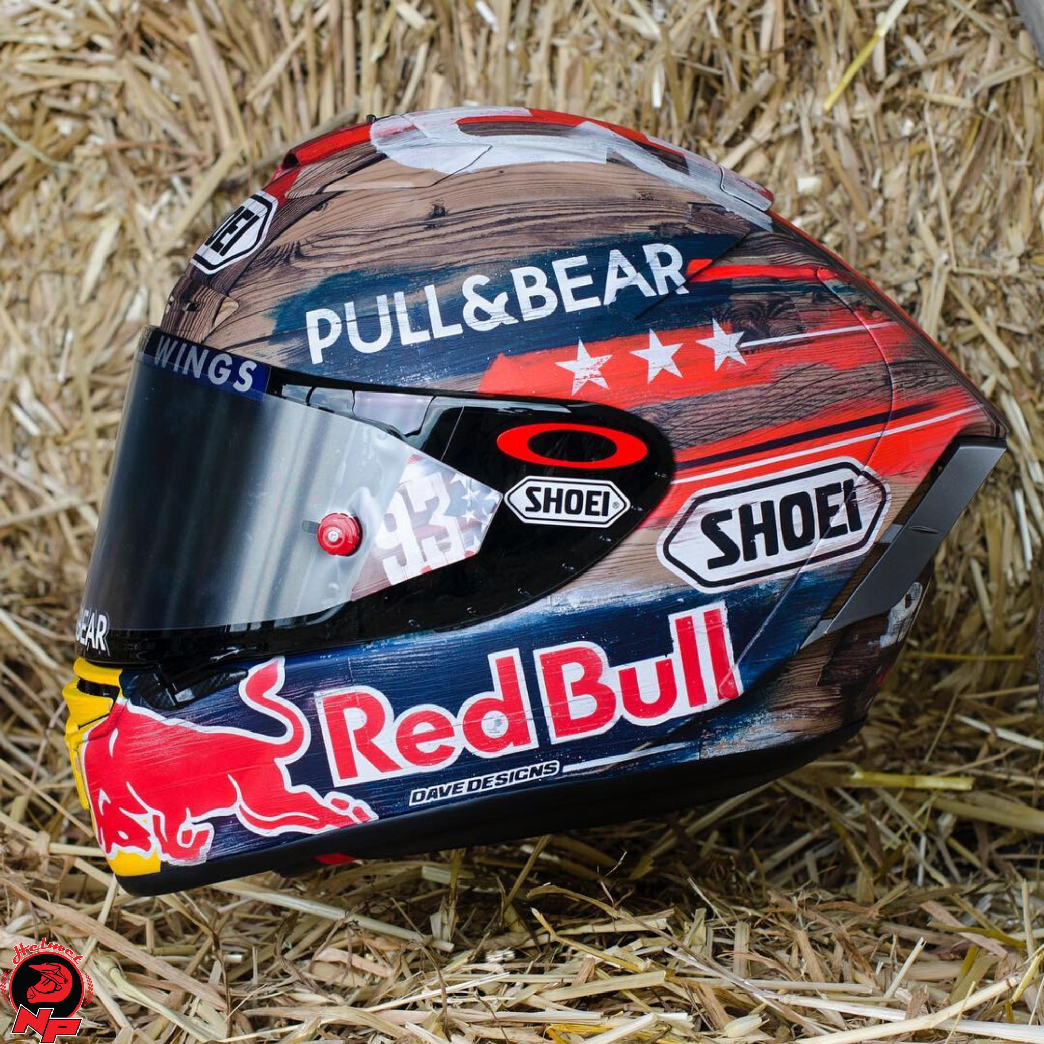 Mũ Bảo Hiểm Shoei X-Spirit 3 Marquez America Limited Edition (PRE-ORDER)