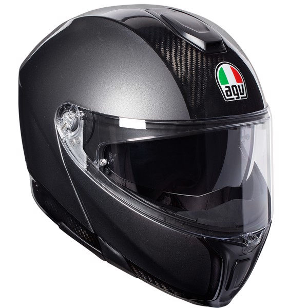 SPORTMODULAR AGV CARBON/DARK GREY
