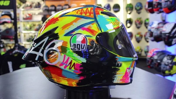 AGV PISTA GP-R ROSSI WINTER TEST 2019