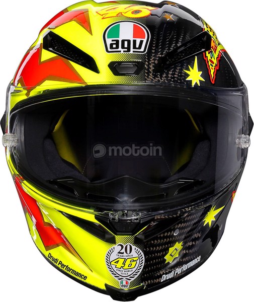 AGV PISTA GP-R CARBON ROSSI 20 YEARS