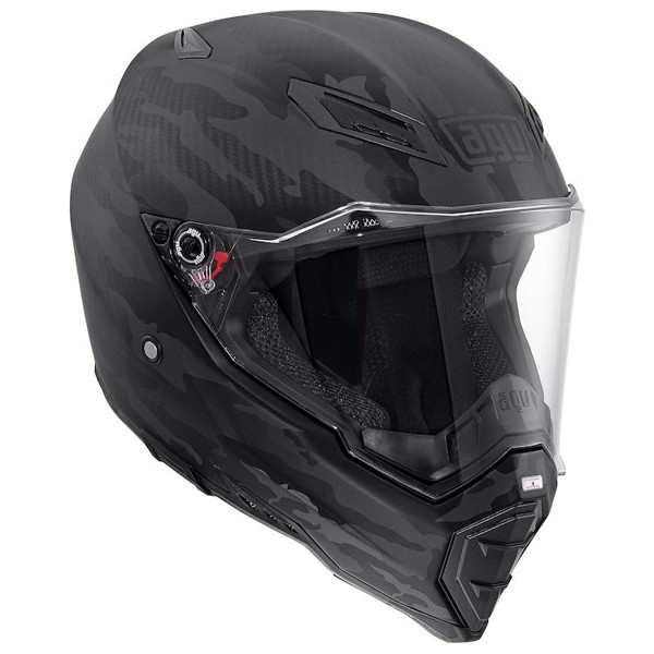 AGV AX-8 NAKED FURY CARBON BLACK