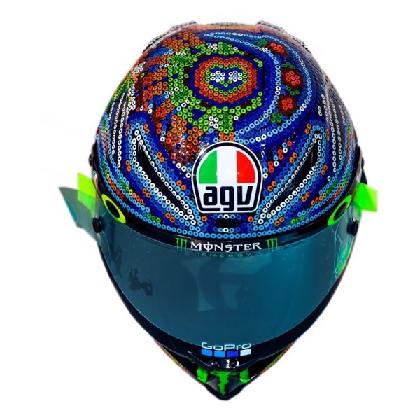 AGV PISTA GP R ROSSI WINTER TEST 2018