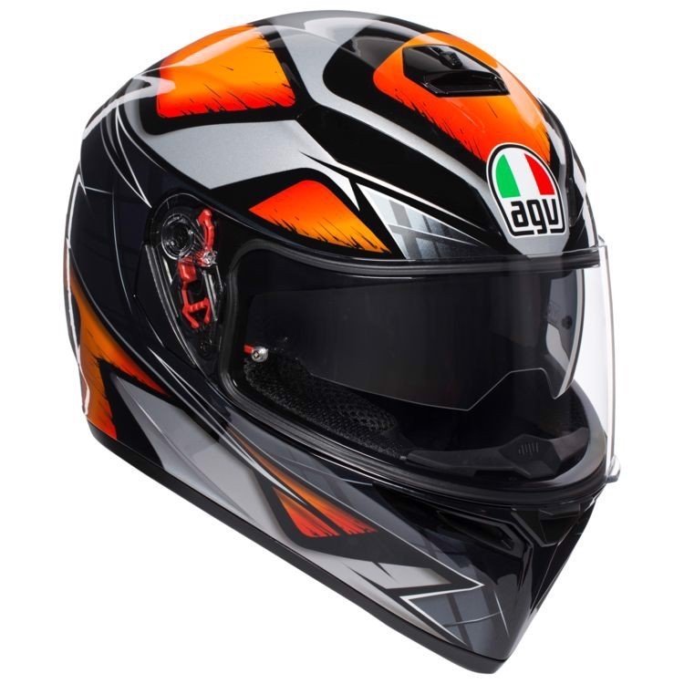 K3-SV AGV LIQUEFY ORANGE/BLACK