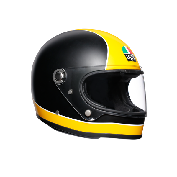 X3000 AGV MATT BLACK/YELLOW