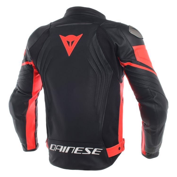ÁO DA RACING 3 PERF. LEATHER JACKET