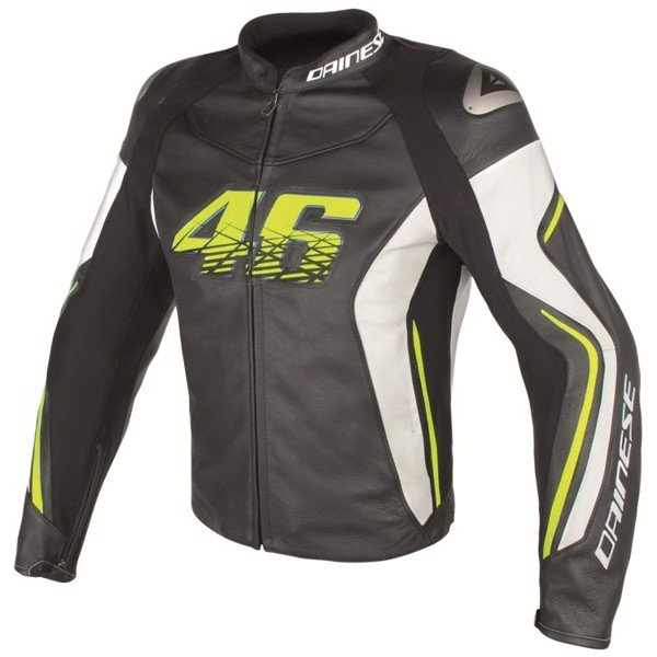 ÁO DA VR46 D2 LEATHER JACKET