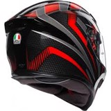 K5-S AGV ASIAN FIT HURRICANE BLACK/RED