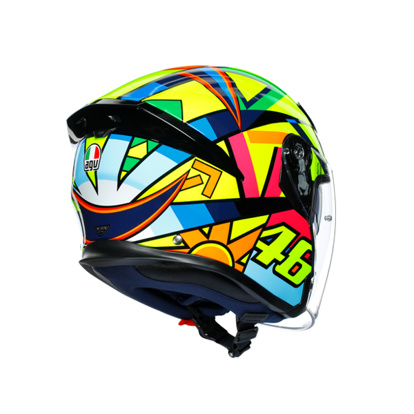 K5 JET AGV ASIAN FIT SOLELUNA 2017