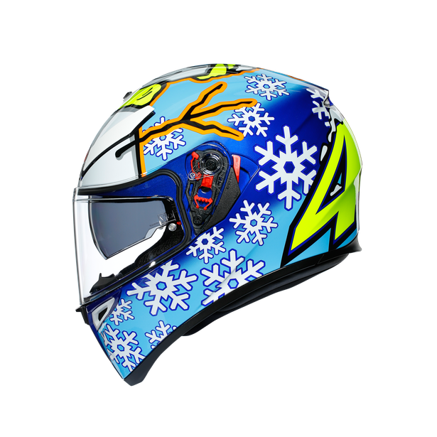 K3 SV AGV ASIA FIT ROSSI WINTER TEST 2016