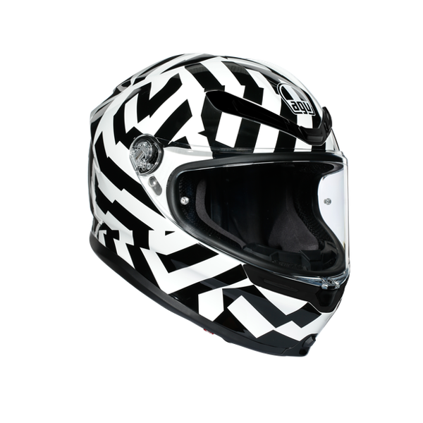 K6 AGV SECRET BLACK/WHITE