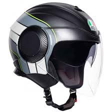 AGV ORBYT BRERA MATT BLACK/GREY/ YELLOW F