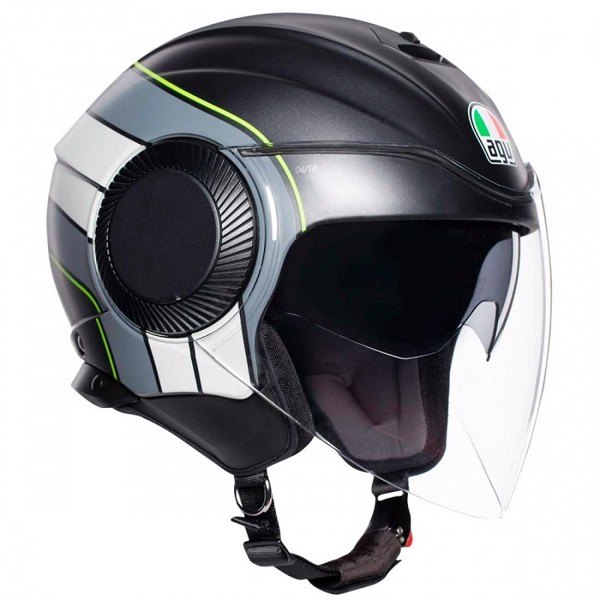 AGV ORBYT BRERA BLACK GRAY YELLOW