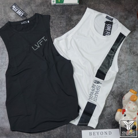 Áo tank top nam Live Fit