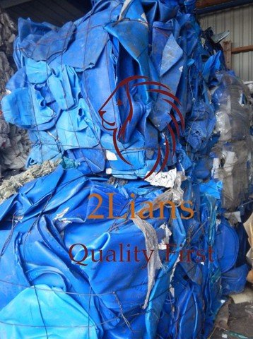 HDPE Mix Color on Bales