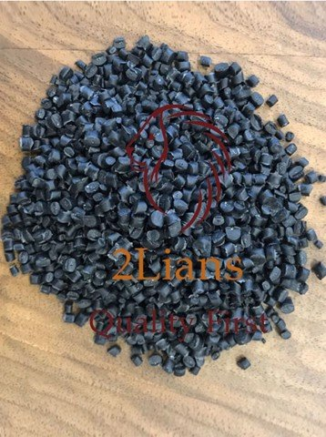 PP Black Recycled Pellet
