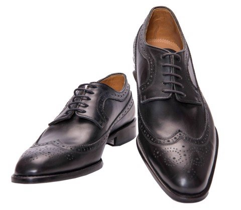 Giày Da Pierre Cardin Brown Brogue Derby - PCMFWLA001
