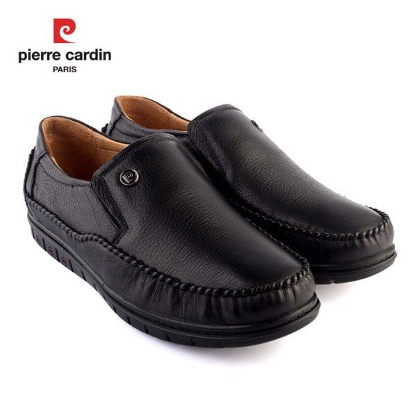Giày Da Pierre Cardin Black Loafer – PCMFWLC 083