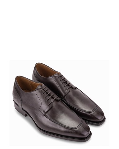 Giày Da Pierre Cardin Brown Derby - PCMFWLA005