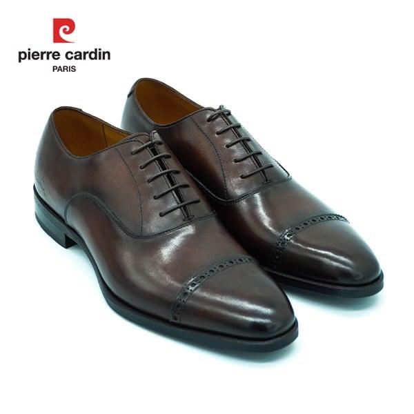 Giày Đế Da Pierre Cardin Wholecut Oxford – PCMFWLE 332