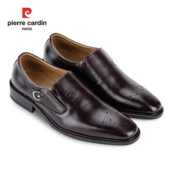 Giày Da Pierre Cardin Penny Loafer Cement – PCMFWLB 045