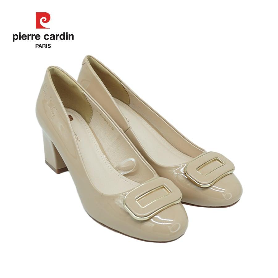 Giày cao gót vuông 3 phân Pierre Cardin PCWFWSD 106 (thanh lý - không bảo hành)