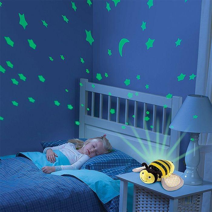Đèn chiếu sao ru ngủ ong vàng Slumber Buddies