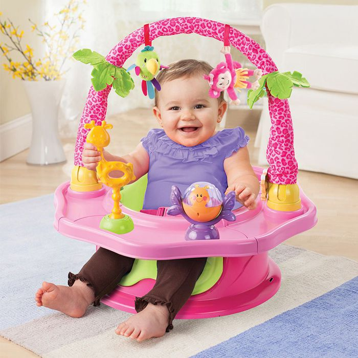 Ghế tập ngồi 3 giai đoạn Deluxe SuperSeat Island Giggles