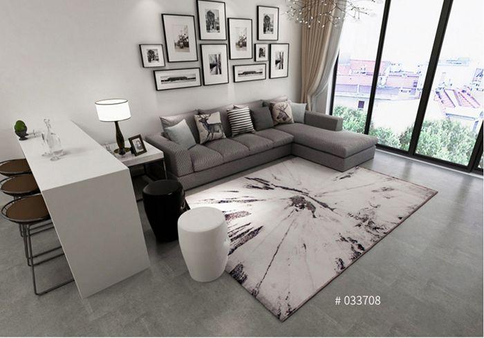 Thảm sofa Blue Art Collection BA007