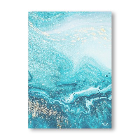 Tranh Canvas Blue Abstract Alila (30x45cm - 40x60cm - 50x75cm - 60x90cm)