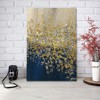 Tranh Canvas Blue And Gold Abstract 4 Alila (60x90cm)