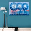 Tranh Canvas Blue Trees Alila (40x60cm - 50x75cm - 60x90cm)
