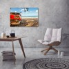 Tranh Canvas Car On The Beach 3 Alila (60x90cm)
