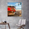 Tranh Canvas Car On The Beach Alila (40x40cm - 60x60cm - 80x80cm - 80x120cm)