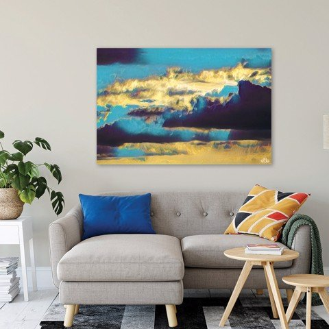 Tranh Canvas Cloud Abstract 2 Alila (40x60cm - 50x75cm - 60x90cm)